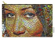Aretha Franklin Tribute Mosaic Portrait 2 Carry-all Pouch