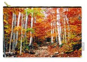 Arethusa Falls Trail Carry-all Pouch by Greg Fortier