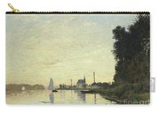 Argenteuil In Late Afternoon Carry-all Pouch