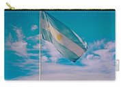 Argentinian Flag In Central Park In Bariloche-argentina  Carry-all Pouch