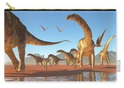 Argentinosaurus Herd Carry-all Pouch