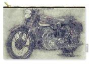 Ariel Square Four 1 - 1931 - Vintage Motorcycle Poster - Automotive Art Carry-all Pouch