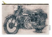 Ariel Square Four - 1931 - Vintage Motorcycle Poster - Automotive Art Carry-all Pouch