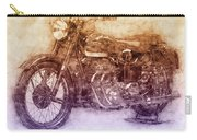 Ariel Square Four 2 - 1931 - Vintage Motorcycle Poster - Automotive Art Carry-all Pouch
