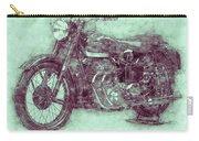 Ariel Square Four 3 - 1931 - Vintage Motorcycle Poster - Automotive Art Carry-all Pouch