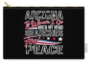Arizona American Patriotic Memorial Day Carry-all Pouch