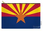 Arizona Flag Art Carry-all Pouch