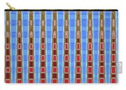 Arizona Saguaro Forest Abstract Carry-all Pouch