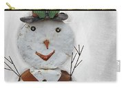 Arizona Snowman Carry-all Pouch
