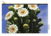 Arizona State Flower- The Saguaro Cactus Flower Carry-all Pouch