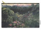 Arkansas Mountain Sunset Carry-all Pouch by Nadine Rippelmeyer