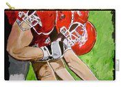 Arkansas Razorbacks Football Carry-all Pouch