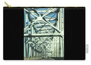 Arkansas Side Of Helena Bridge 1 Carry-all Pouch