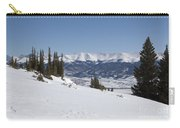 Arkansas Valley From Mount Elbert Colorado In Winter Carry-all Pouch