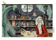 Arleas And The Wizard - Green Carry-all Pouch