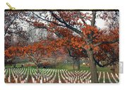 Arlington Cemetery In Fall Carry-all Pouch by Carolyn Marshall