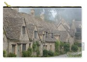 Arlington Row, Bibury In The Morning Fog Carry-all Pouch