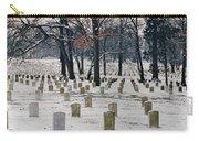 Arlington Winter Snow Carry-all Pouch