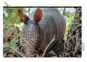 Armadillo In The Woods Carry-all Pouch