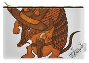 Armadillo Sheriff  Carry-all Pouch