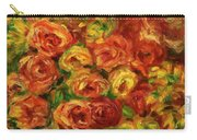 Armful Of Roses 1918 Carry-all Pouch
