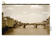 Arno River Florence Carry-all Pouch