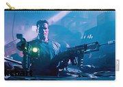 Arnold Schwarzenegger Firing Dual Em-1 Railguns Eraser 1996 Carry-all Pouch