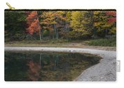 Around The Bend- Hiking Walden Pond In Autumn Carry-all Pouch
