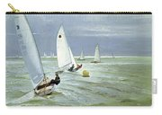 Around The Buoy Carry-all Pouch by Timothy Easton
