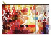 Arraygraphy - Sunset Inferno Triptych Carry-all Pouch