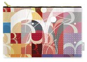 Arraygraphy - Sunset Inferno Triptych Part 3 Carry-all Pouch