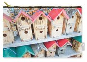 Array Of Handmade Birdhouses For Sale Carry-all Pouch