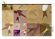 Arraygraphy - Birdies Sepia, Part 1 Carry-all Pouch