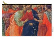 Arrest Of Christ Fragment 1311 Carry-all Pouch
