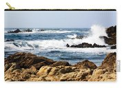 Arriving Tide At Pebble Beach Carry-all Pouch