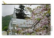 Arrowtown Church On A Rainy Day, New Zealand Carry-all Pouch