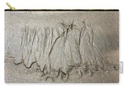 Art Created By Nature On Sand  Carry-all Pouch