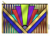 Art Deco 23 Carry-all Pouch