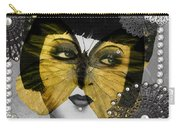 Art Deco Butterfly Woman Carry-all Pouch