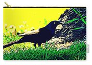 Art Deco Grackle Carry-all Pouch