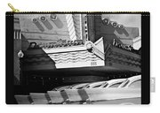 Art Deco Movie Theatre And Chevrolet Belair Carry-all Pouch
