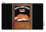 Art Deco Orient Express Advertising Athens Carry-all Pouch