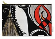Art Deco Penis Painting Carry-all Pouch