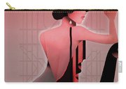 Art Deco Valentine Greeting Carry-all Pouch