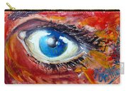 Art In The Eyes Carry-all Pouch