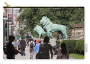 Art Institute Of Chicago Bronze Lions Carry-all Pouch