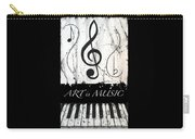 Art Is Music-music In Motion Carry-all Pouch