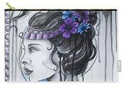 Art Nouveau Girl 1 Carry-all Pouch