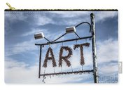 Art Sign Carry-all Pouch