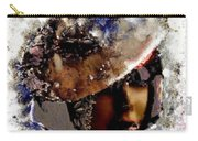 Art Vintage She Fragmented Carry-all Pouch
